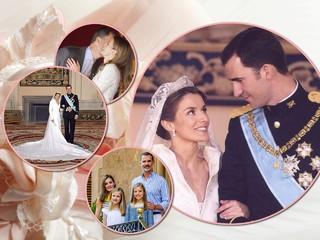 15 лет как один день: король Филипп и королева Летисия отметили юбилей свадьбы