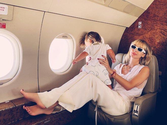 Светлана Лобода с младшей дочкой Тильдой