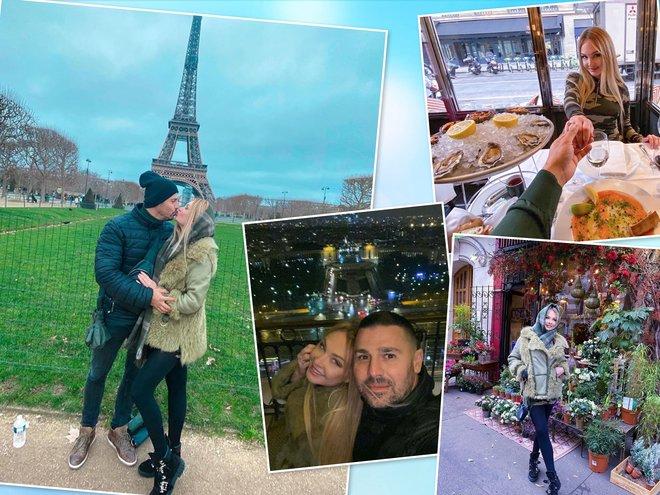 Дарья Пынзарь и Сергей Пынзарь в Париже