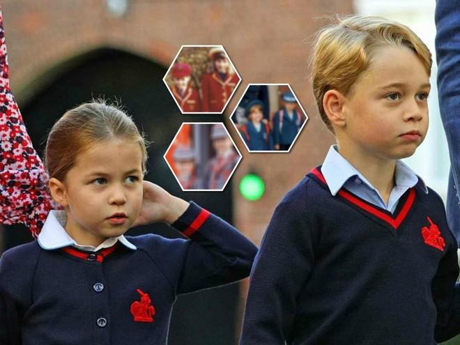 Дресс-код: в чем ходят в школу принц Джордж, принцесса Шарлотта и другие монархи