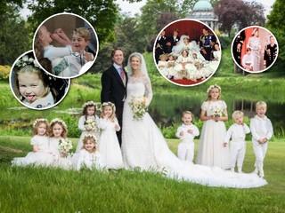 Принцесса Шарлотта и не только: как малыши ведут себя на королевских свадьбах