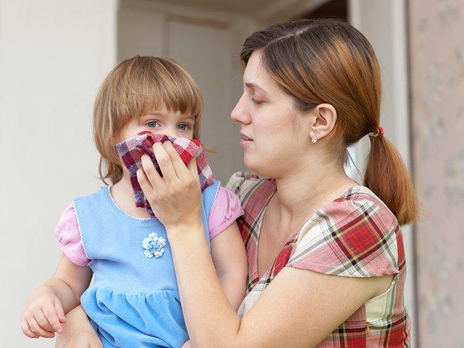 Как научить ребенка сморкаться видео