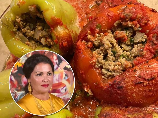 Три особенных ингредиента: Анна Нетребко поделилась фирменным рецептом фаршированного перца