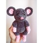 Плюшевая мышка 😇