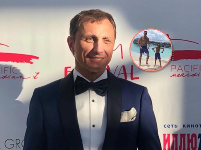 Танцы на песке: Вадим Галыгин поделился забавным видео с участием 8-летнего сына