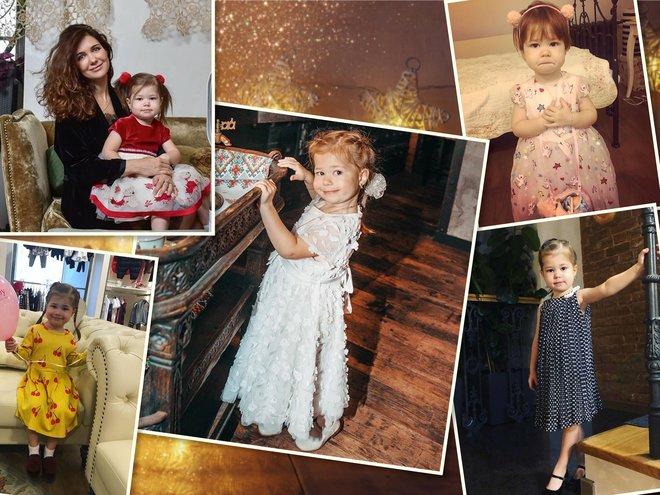 4-летняя дочь Екатерины Климовой и Голы Месхи растет настоящей модницей