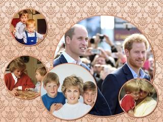 Экс-телохранитель принцессы Дианы: соперничество между Уильямом и Гарри началось еще в детстве