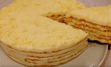"Торт ""Пломбир"" без выпечки"