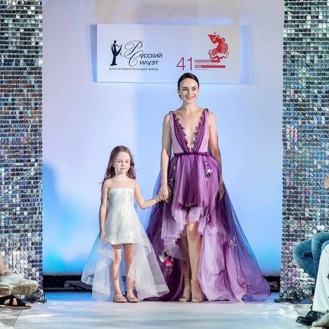 Анна Снаткина с дочкой