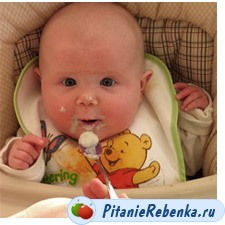 питание ребенка 4 месяц