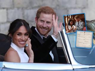 Принц Гарри и Меган Маркл удивили всех свидетельством о рождении своего сына