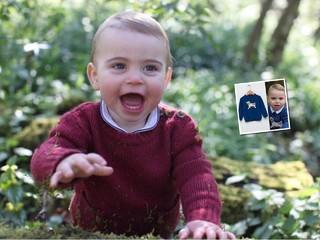 Юный модник: свитер с собачкой принца Луи уже стал хитом в Сети