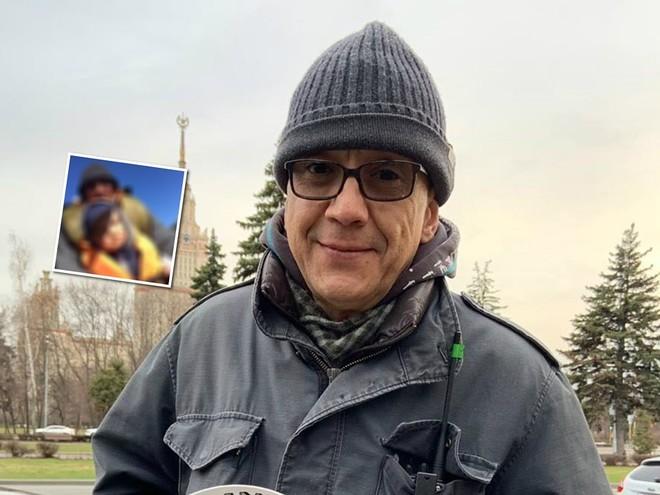 Мужчина растет: Егор Кончаловский показал подросшего сына