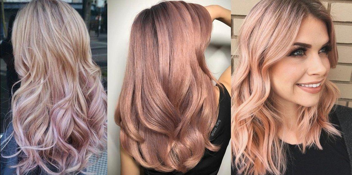 Пудровый цвет волос