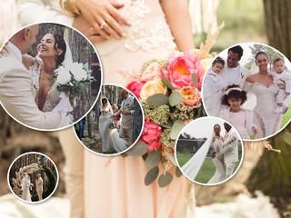 Настя Каменских выбрала свадебное платье от дизайнера Бейонсе