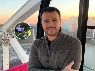 Экстремальное катание: Эмин Агаларов показал дочке, как катапультироваться с качелей