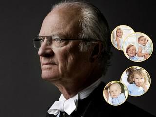 Вот это поворот! Король Швеции лишил титулов пятерых своих внуков
