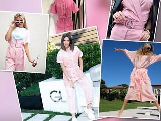 Модная битва: Вера Брежнева и Ксения Бородина в розовых комбинезонах