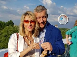 Екатерина Архарова впервые показала новорожденного сына