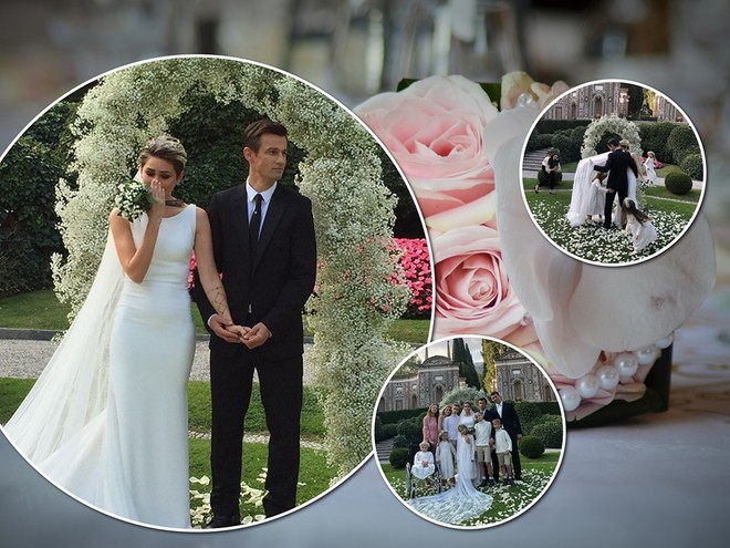 Из Италии с любовью: появились фото со свадьбы главного тренера «Зенита» Сергея Семака
