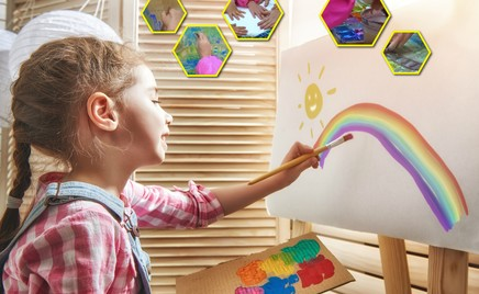 Акватипия: рисуем вместе с детьми в новой технике