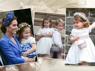 Принцесса Шарлотта станет подружкой невесты на свадьбе крестного