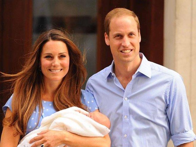 Рождение принца Джорджа