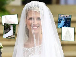 Больше, чем у принцесс: у леди Габриэллы Виндзор было 4 свадебных платья