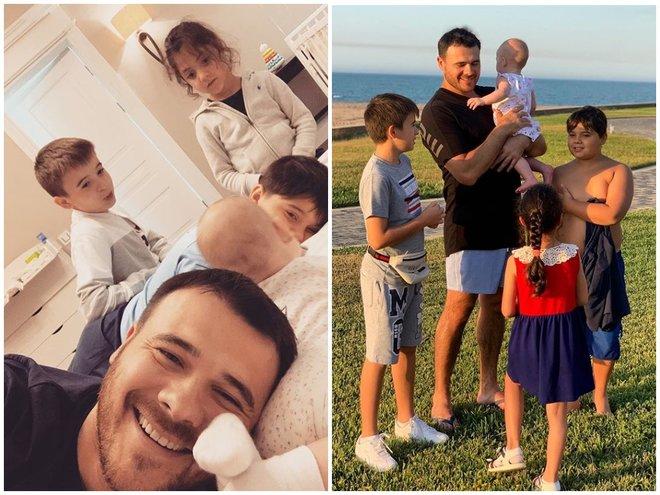 Эмин Агаларов со всеми детьми