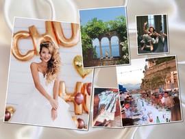 Горько! Регина Тодоренко и Влад Топалов сыграли свадьбу в Италии