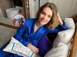 Полный набор: Наталья Водянова показала фото со всеми детьми