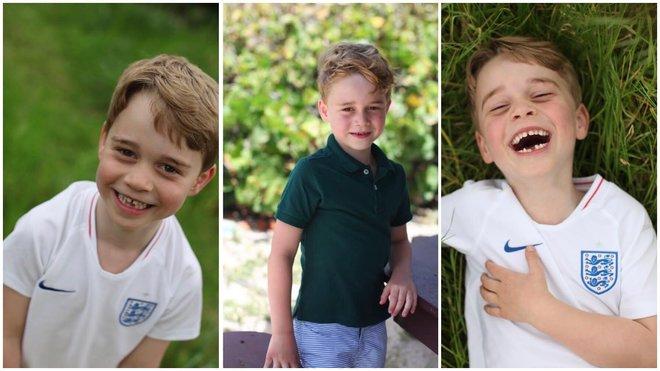 Официальные портреты принца Джорджа в честь его 6-летия