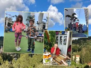 В гостях у бабушки и дедушки: дети Антона и Виктории Макарских отдыхают в Израиле