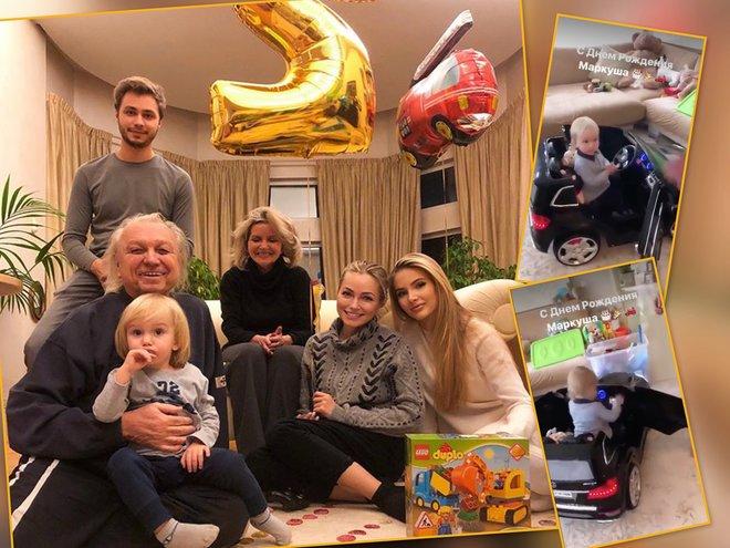 Младшему сыну Дмитрия Маликова исполнилось 2 года