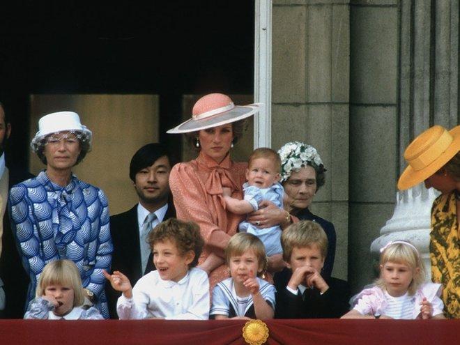 Принц Уильям в матроске