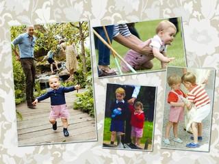 Хит на все времена: дети принца Уильяма носят комбинезон принца Гарри