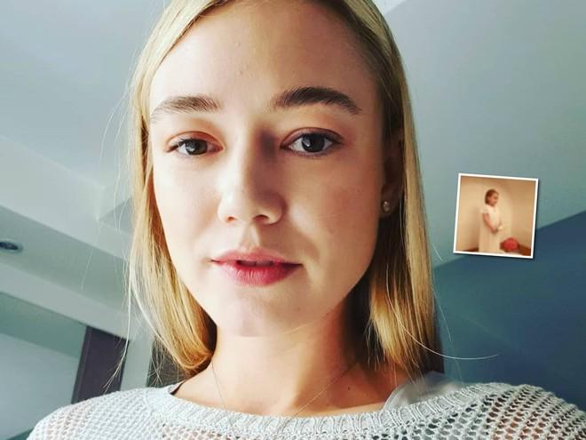 Редкие кадры: Оксана Акиньшина крестила дочку
