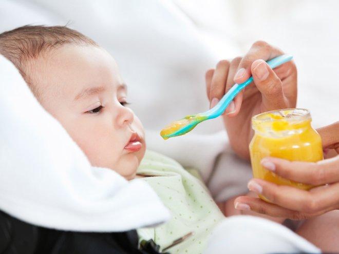 Детское питание в 6 месяцев