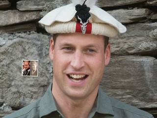 Принц Уильям все больше становится похож на свою прапрабабушку-аристократку