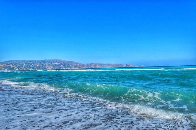 Море-море, мир бездонный