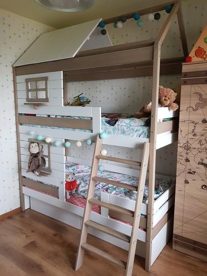 Новый домик для детей!))