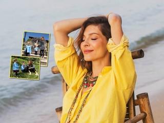 Моменты счастья: Елена Подкаминская показала кадры с обеими дочками из отпуска