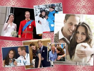 Это любовь: лучшие романтичные кадры Кейт Миддлтон и принца Уильяма