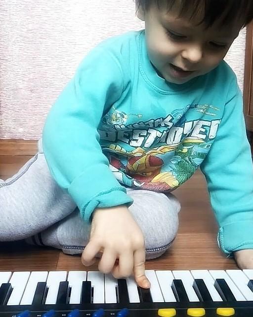 Полюбили музыку))