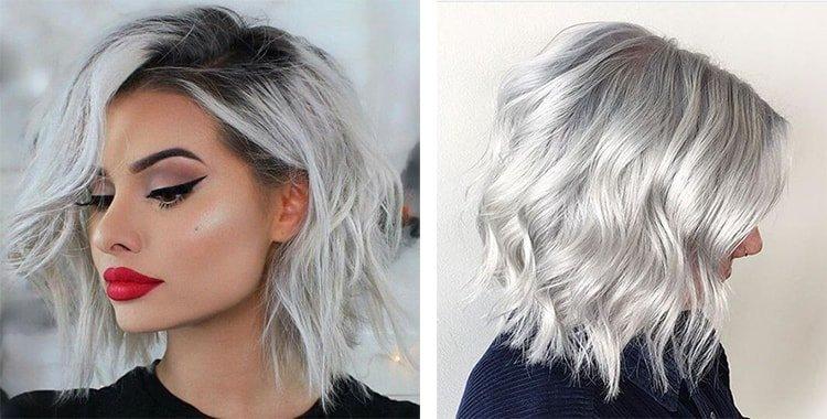 Серебристо-пепельный блонд