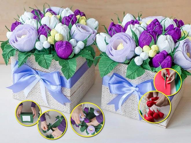 Пошаговая инструкция: подарок-букет на День матери