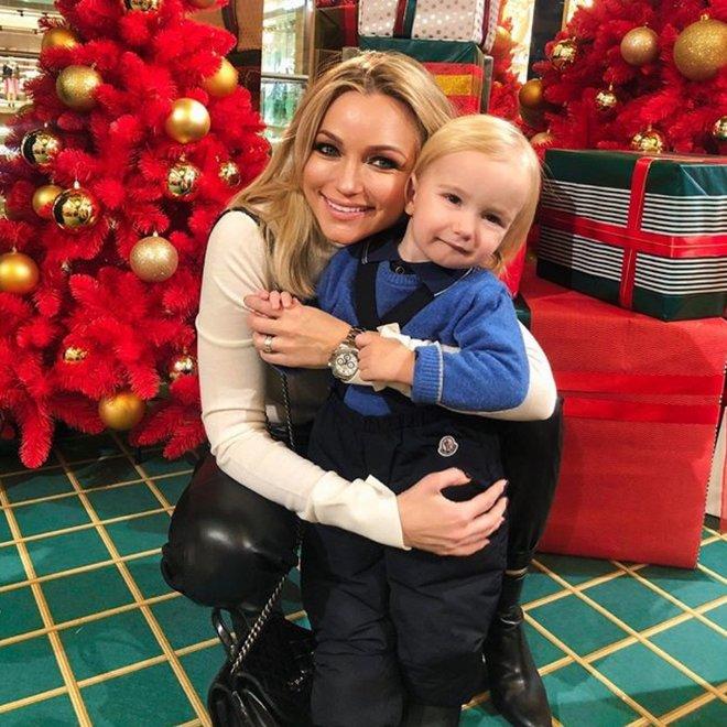 Инна Маликова с племянником