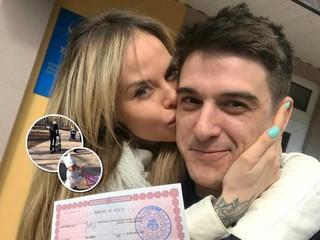 Жена Стаса Бондаренко опубликовала трогательное видео с прогулки с обеими дочками