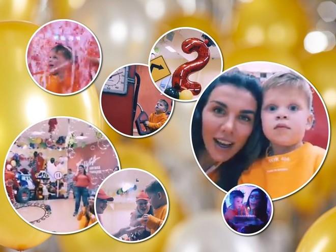 Видеоотчет: Анна Седокова показала, как прошла вечеринка в честь дня рождения сына