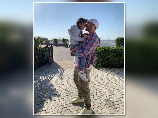 Эмин Агаларов с дочкой Аминой